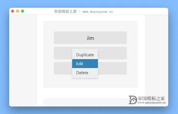 简单的Vue左、右键菜单组件(vue-simple-context-menu)